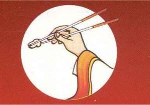 Comment bien manger avec des baguettes chinoises d coration asiatique et d co tendance - Comment tenir des baguettes chinoises ...