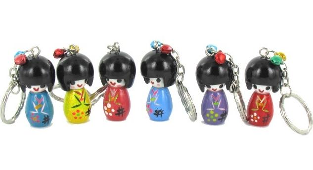 Des porte cl s acidul s et porte bonheur pour gayer vos for Decoration porte japonaise