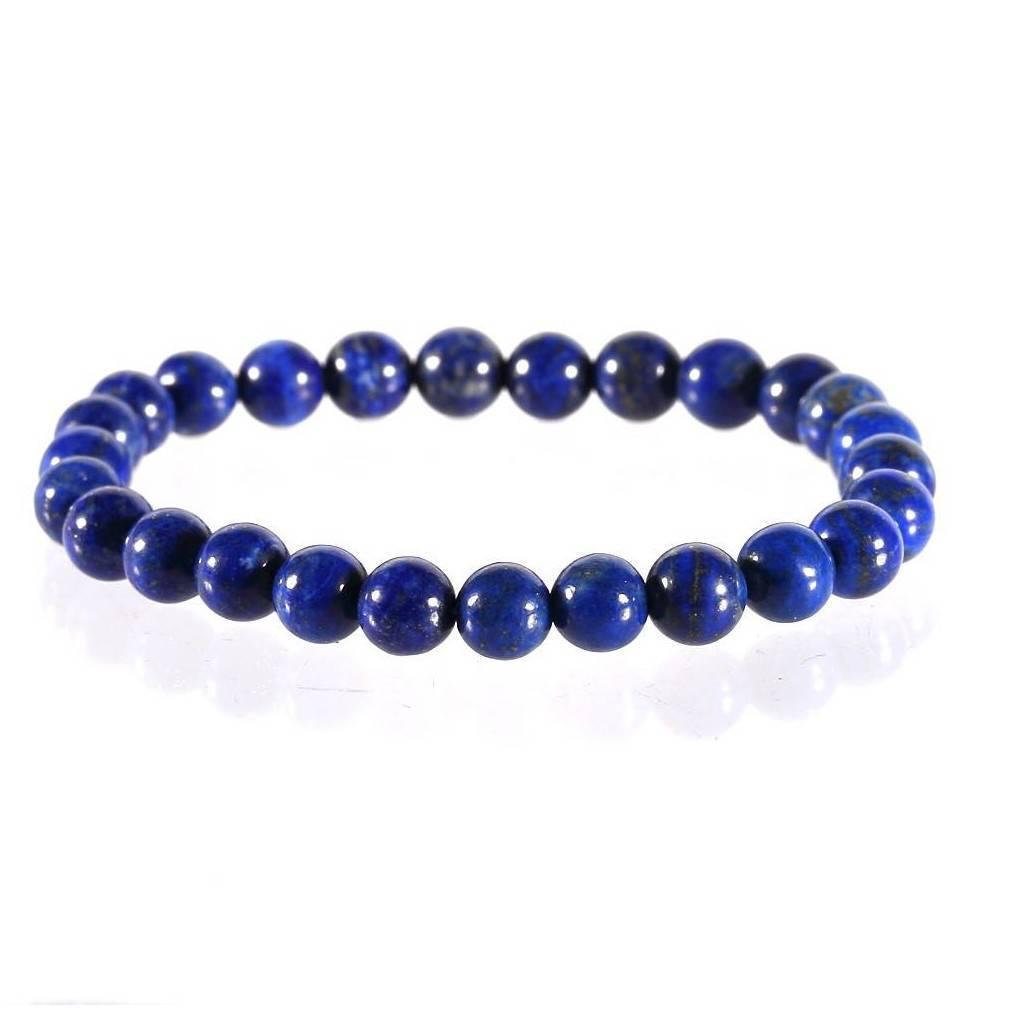 Bracelet en lapis lazuli, Amour et Harmonie