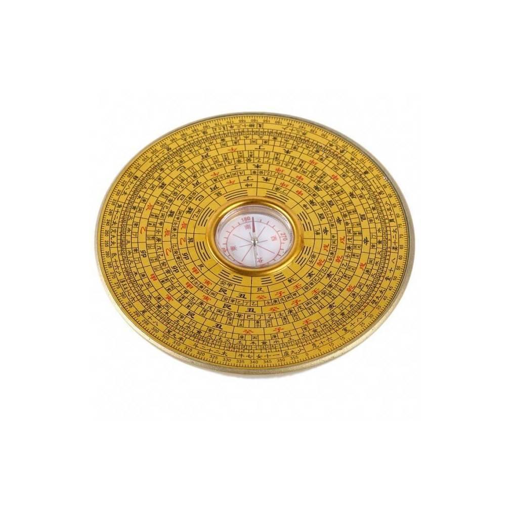boussole ronde feng shui traditionnelle un objet de d coration. Black Bedroom Furniture Sets. Home Design Ideas