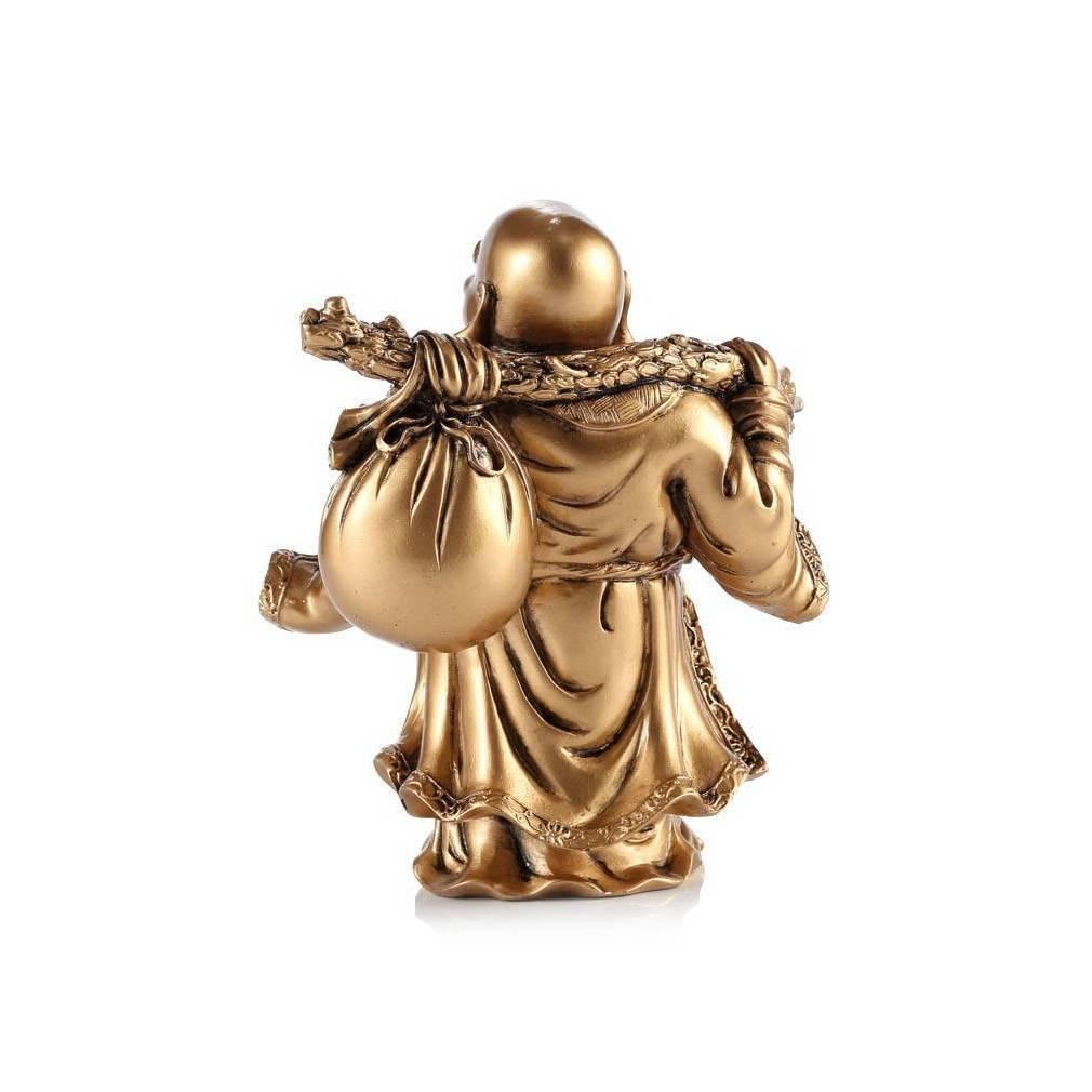 statuette de bouddha rieur symbole de richesse et de fortune. Black Bedroom Furniture Sets. Home Design Ideas