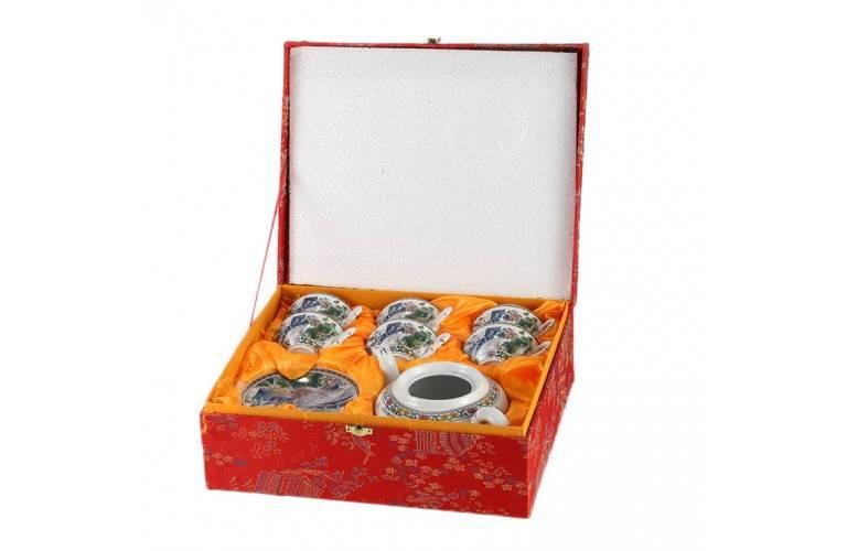 Service à thé Grande Muraille de Chine