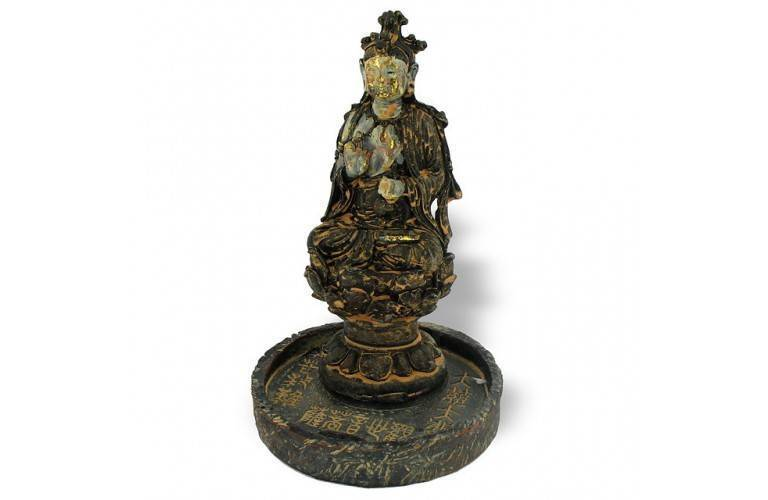 "STATUETTE BOUDDHA ""BENEDICTION"""