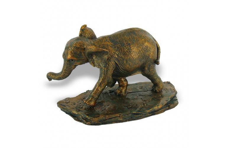 BEBE ELEPHANT BRONZE CHANCE