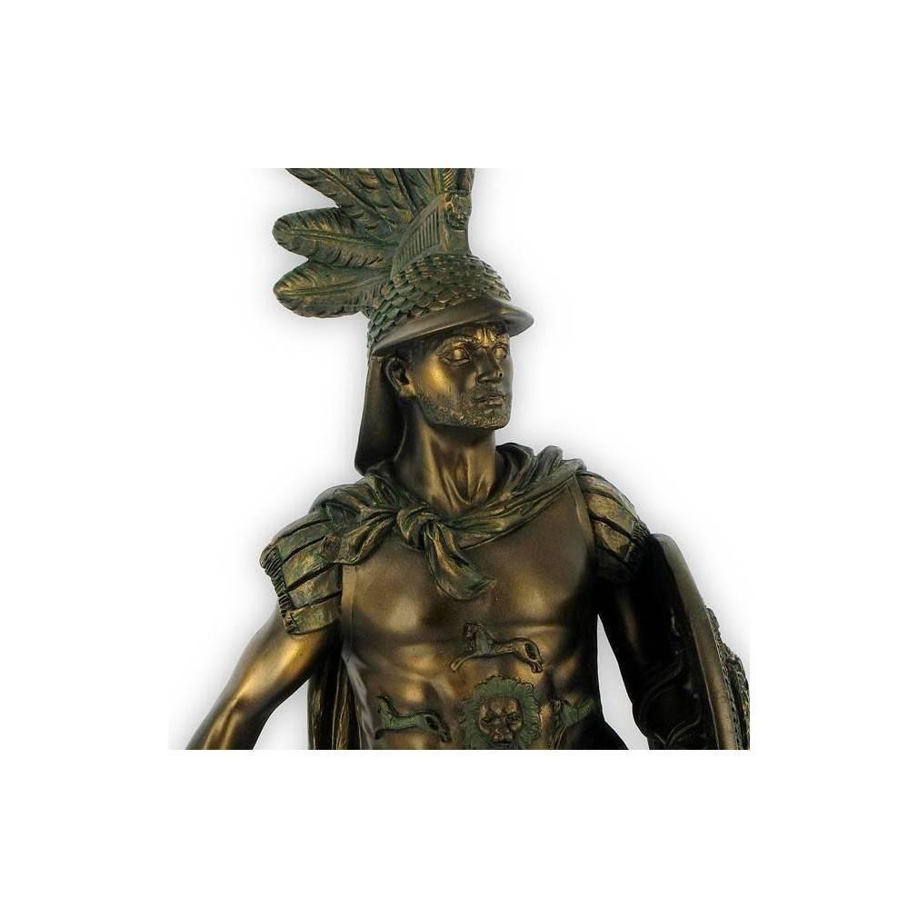 statuette centurion romain antique ebay. Black Bedroom Furniture Sets. Home Design Ideas
