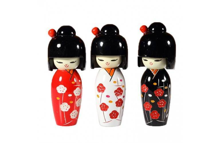 3 KOKESHI JAPONAISES
