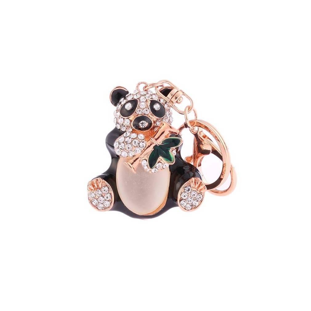 porte-clés panda un amour venu de Chine, symbole porte-bonheur chinois