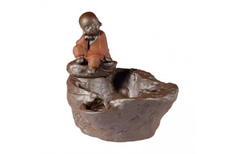 fontaine eau d 39 int rieur pr sentant un bonze zen pour la. Black Bedroom Furniture Sets. Home Design Ideas