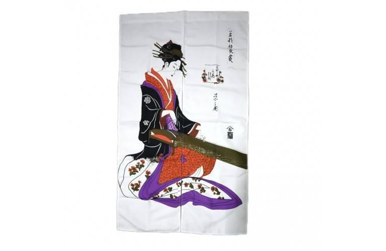 NOREN GEISHA JAPONAISE