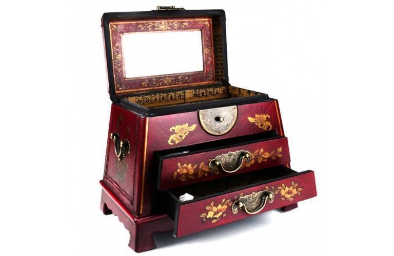 bo te bijoux traditionnelle chinoise une r plique antique. Black Bedroom Furniture Sets. Home Design Ideas