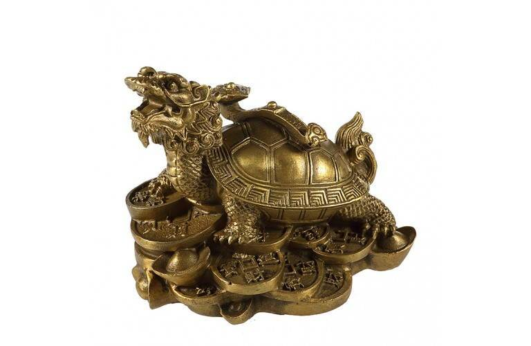 TORTUE DRAGON FENG SHUI