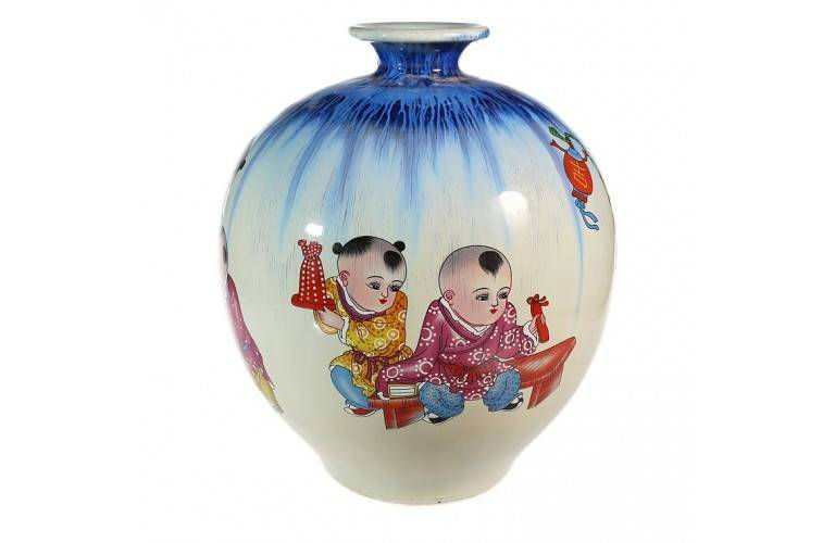 VASE TRADITIONNEL CHINOIS