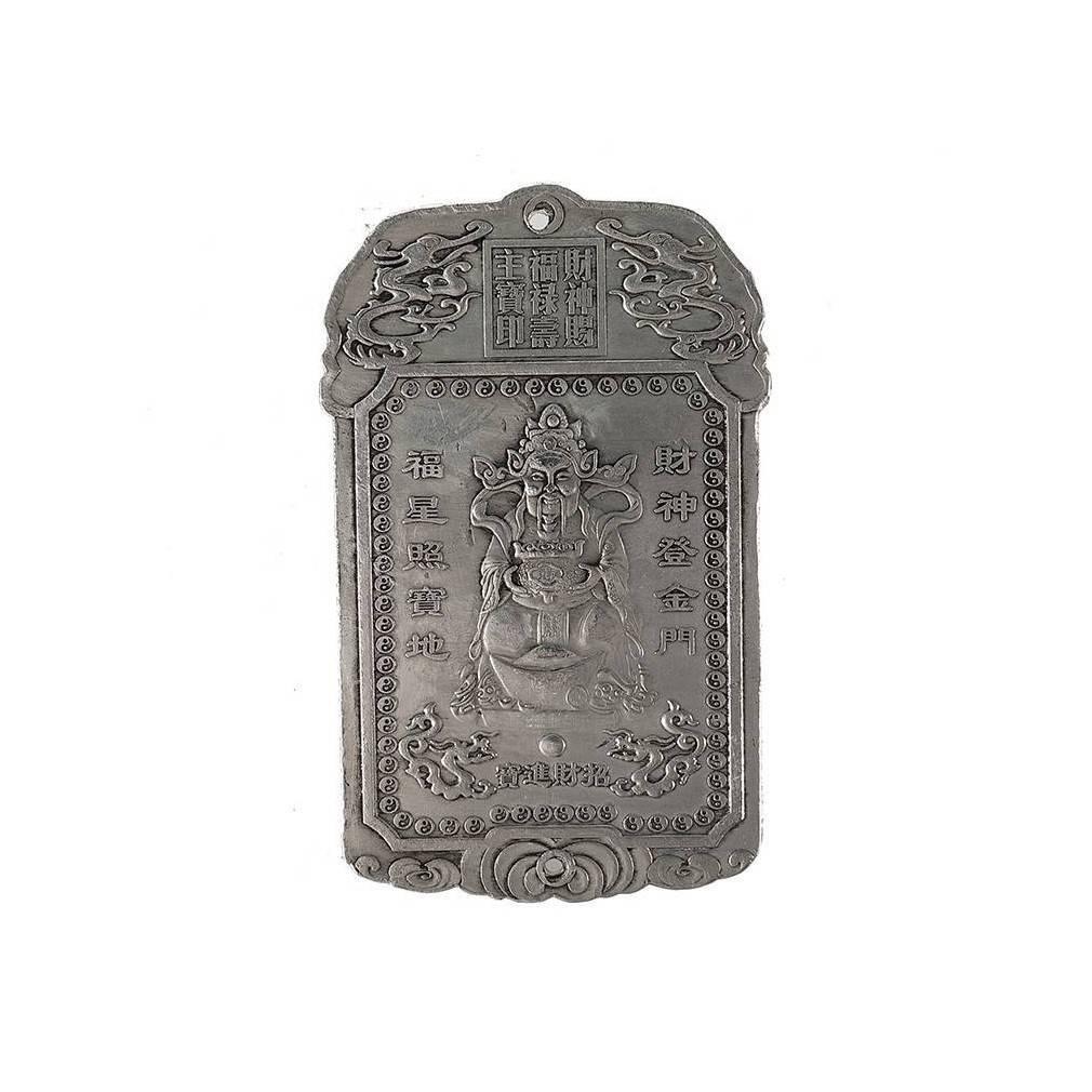 talisman feng shui dieu caishen