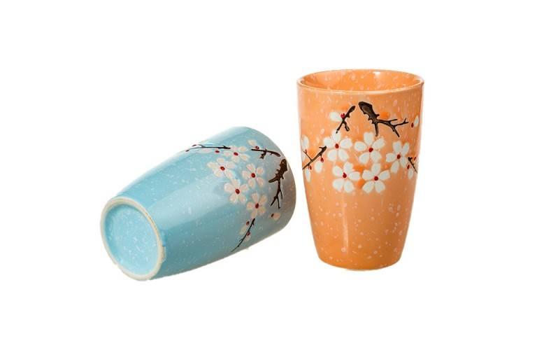 COFFRET 2 VERRES DESIGN JAPONAIS