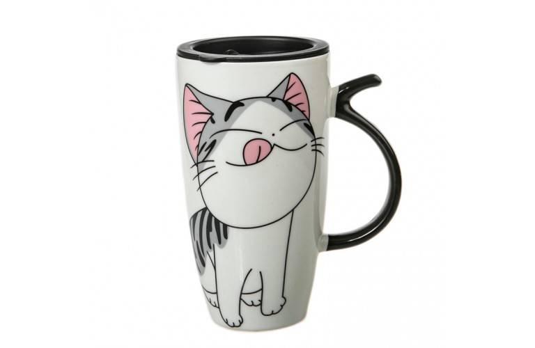 MUG GEANT LUCKY CAT