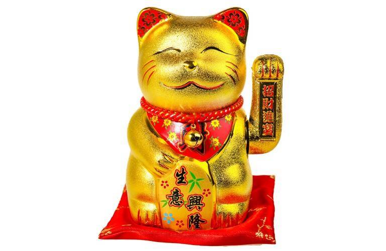 "BIG CHAT MANEKI NEKO ""Bras qui Bouge"""