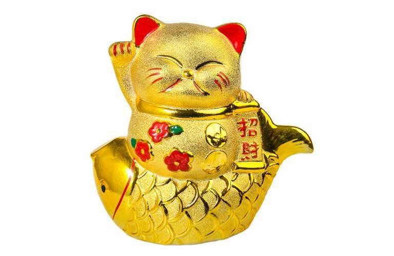 CHAT MANEKI NEKO - RICHESSE et FORTUNE
