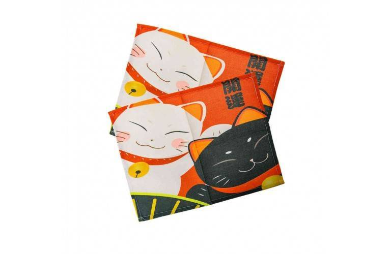 2 SETS de TABLE - DUO DE MANEKI
