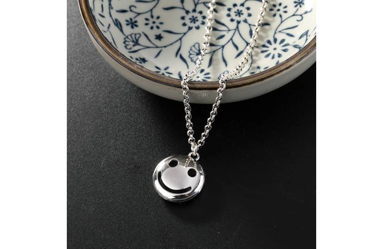 COLLIER SMILEY - ARGENT
