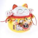 Chat Maneki Neko Japonais - Voeux de Richesse et Fortune