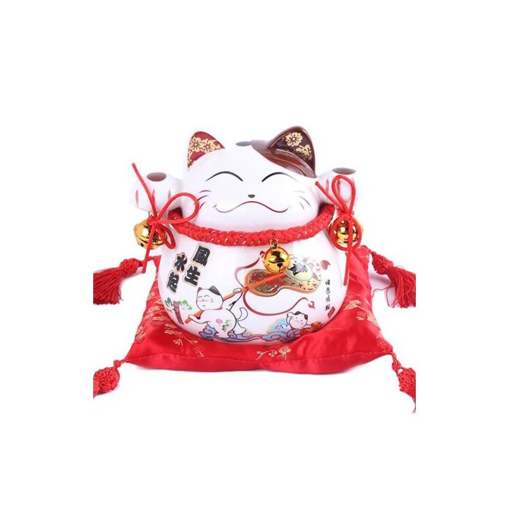 Maneki neko du japon porte bonheur et d coration for Decoration porte japonaise