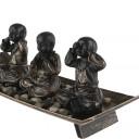 3 Bonzes Zen sur Plateau