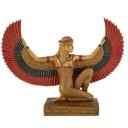Grande Statuette Egyptienne Isis Ailée