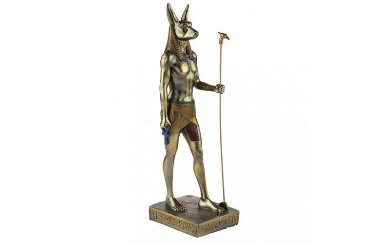 STATUETTE DIEU EGYPTIEN ANUBIS