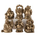 6 Figurines Bouddha Rieur - Voeux Particuliers