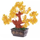Arbre Feng Shui Traditionnel en Citrine
