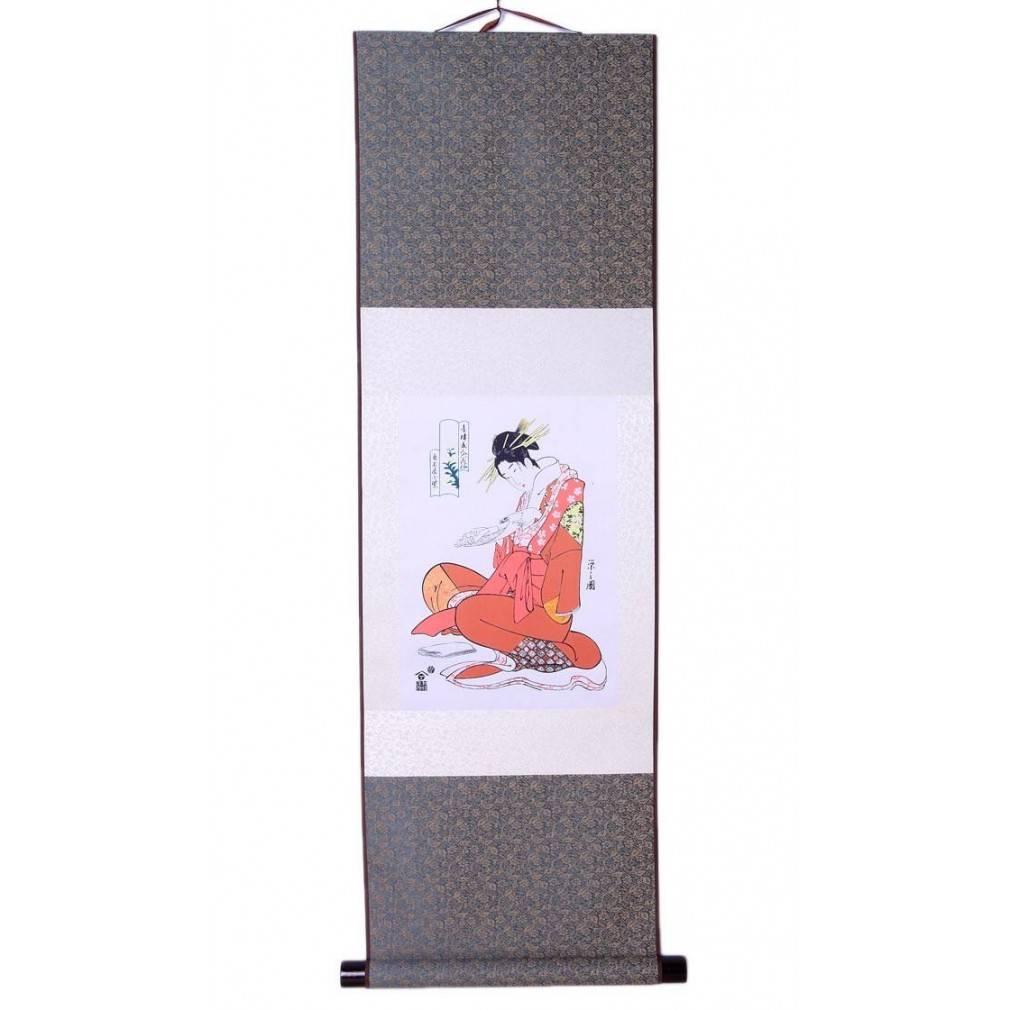 Kakemono Japonaise Traditionnelle