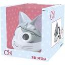 Mug 3D - Chat CHI Japonais