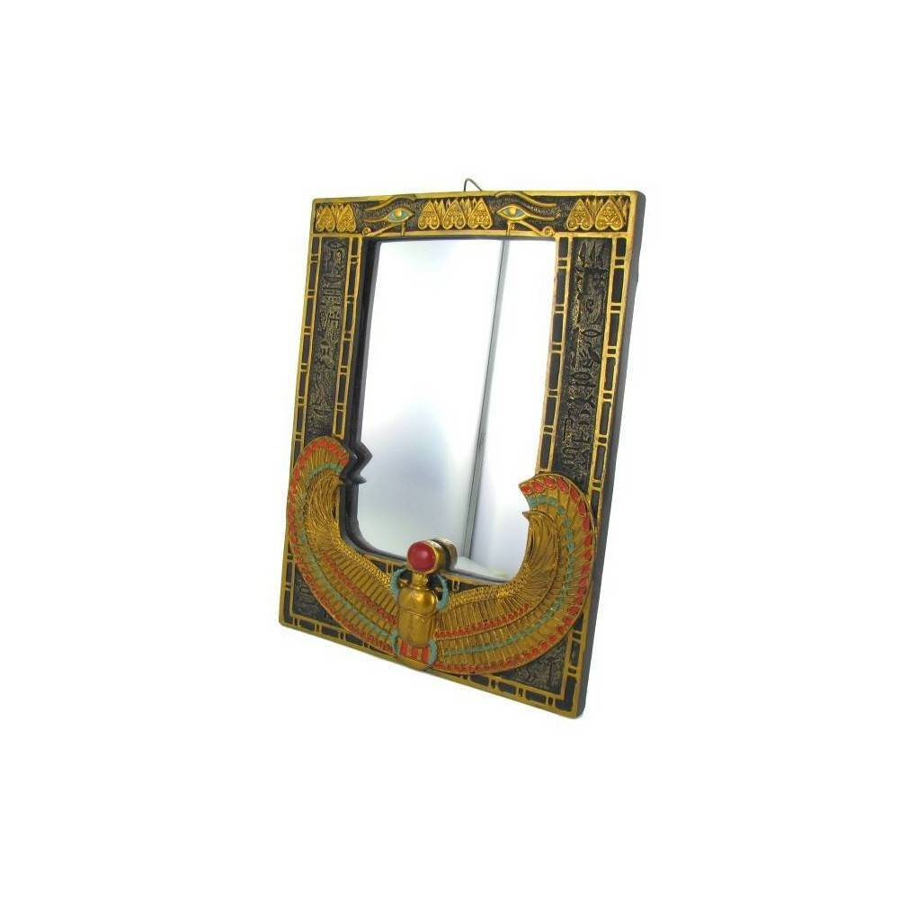 Miroir egyptien ailes d isis for Miroir egyptien