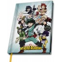 CAHIER A5 - Manga My Hero Academia