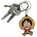 "PORTE-CLES MANGA - One Piece ""Luffy"""