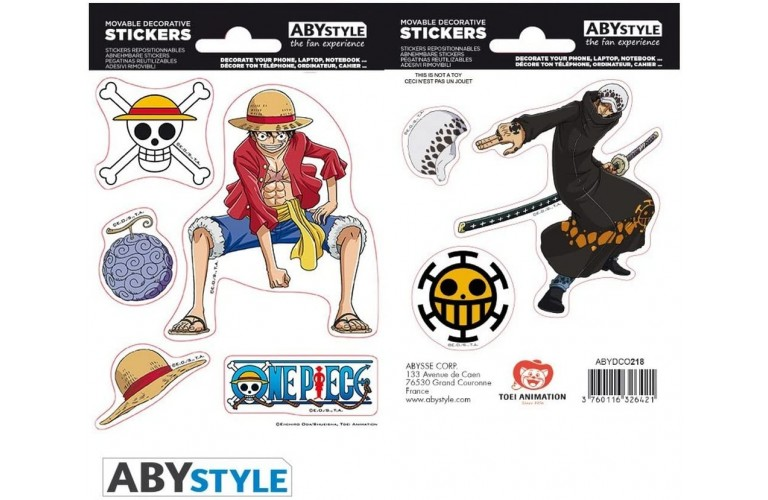 STICKERS JAPONAIS - Manga One Piece