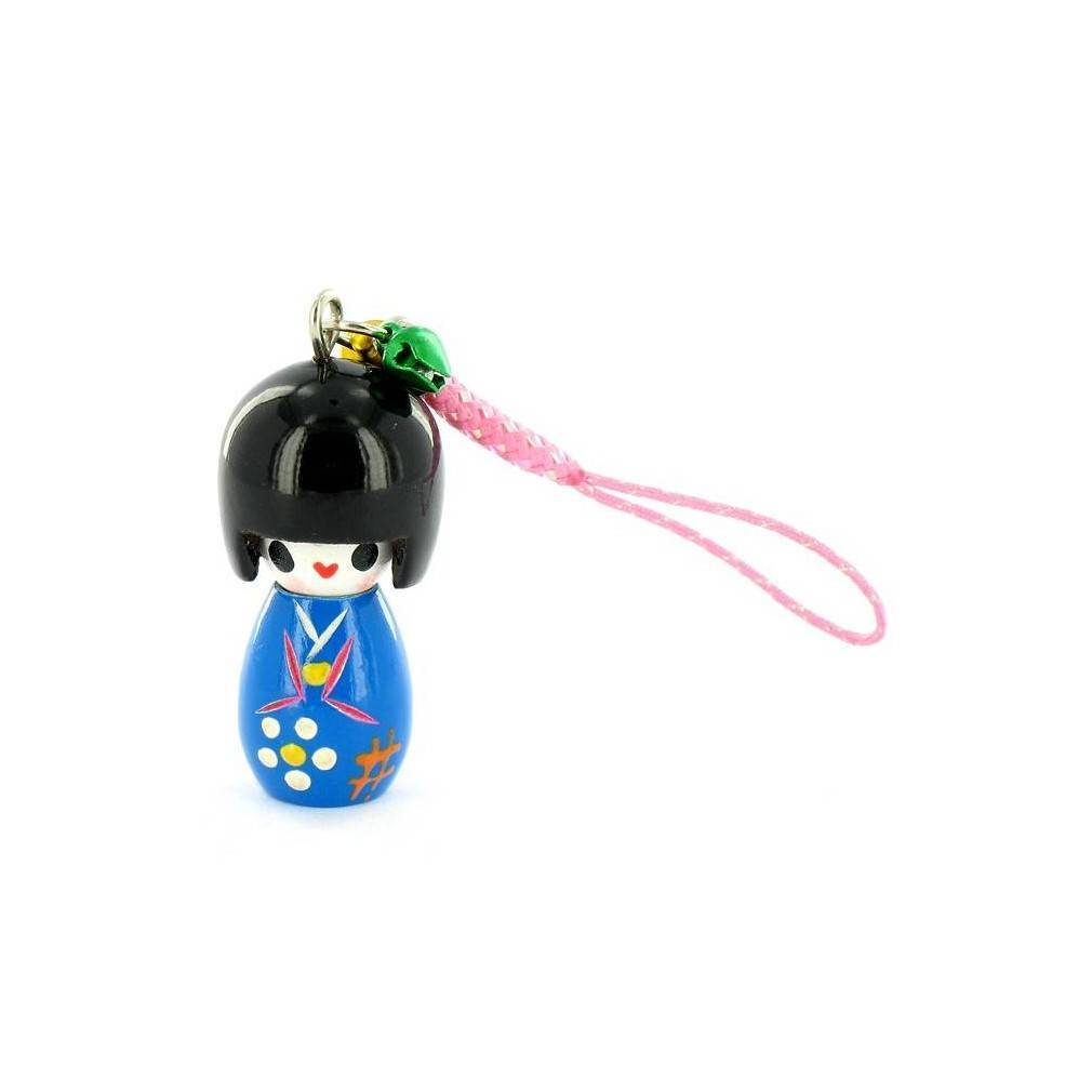 kokeshi accessoire telephone portable. Black Bedroom Furniture Sets. Home Design Ideas