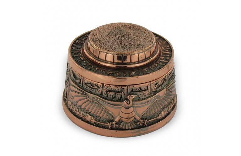 BOITE EGYPTIENNE DEESSE NEKHBET