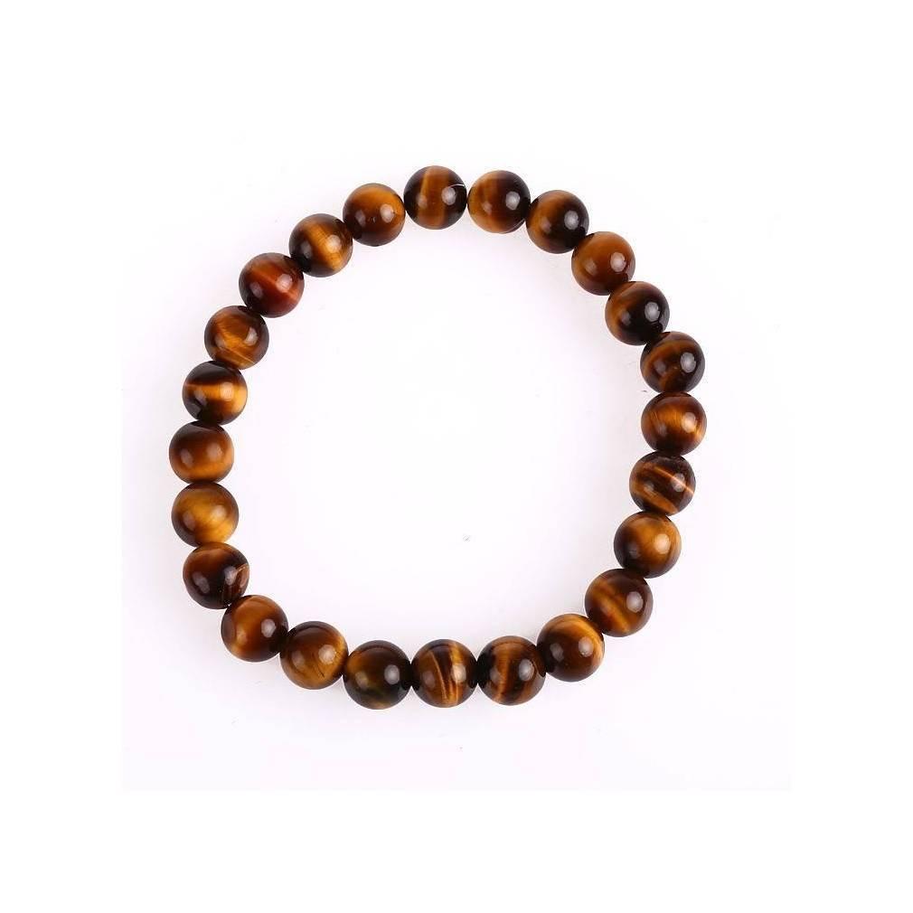 Bracelet Bouddha Oeil de Tigre, protection et équilibre