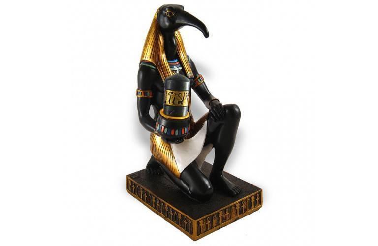 DIEU EGYPTIEN THOT PORTE BOUGIE