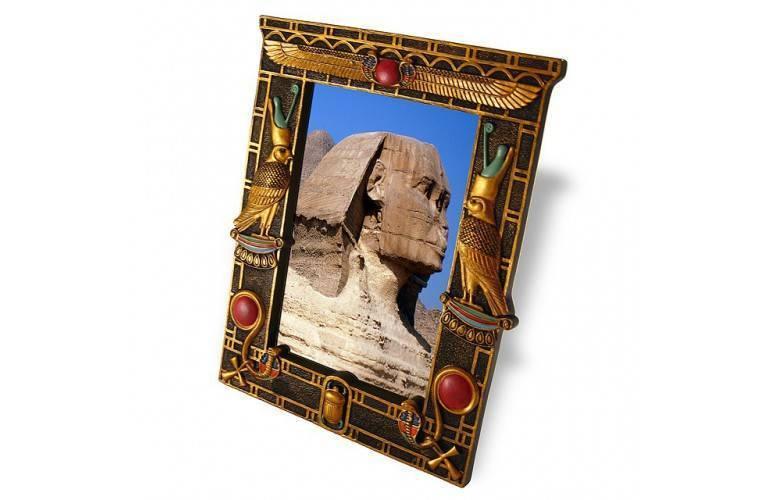 CADRE PHOTO EGYPTIEN HORUS