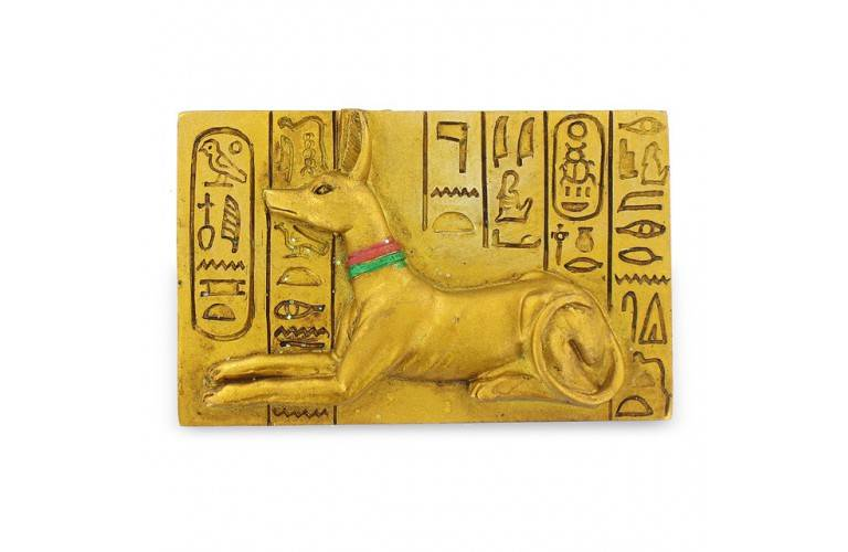 MAGNET EGYPTIEN ANUBIS CHACAL
