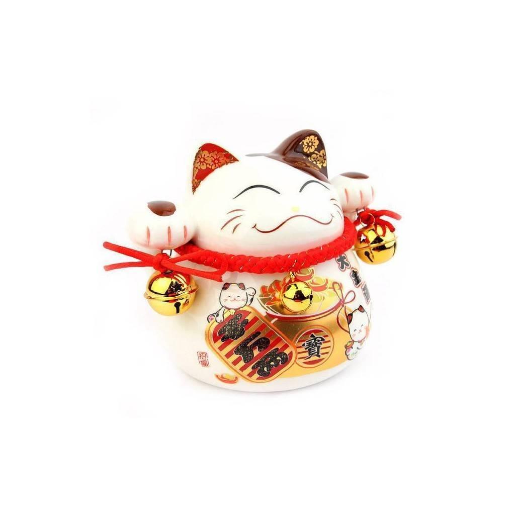 chat japonais porte bonheur tradition et d coration japonaise ebay. Black Bedroom Furniture Sets. Home Design Ideas