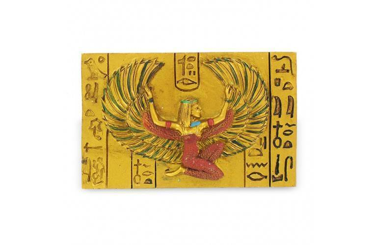 MAGNET EGYPTIEN DEESSE ISIS AILEE