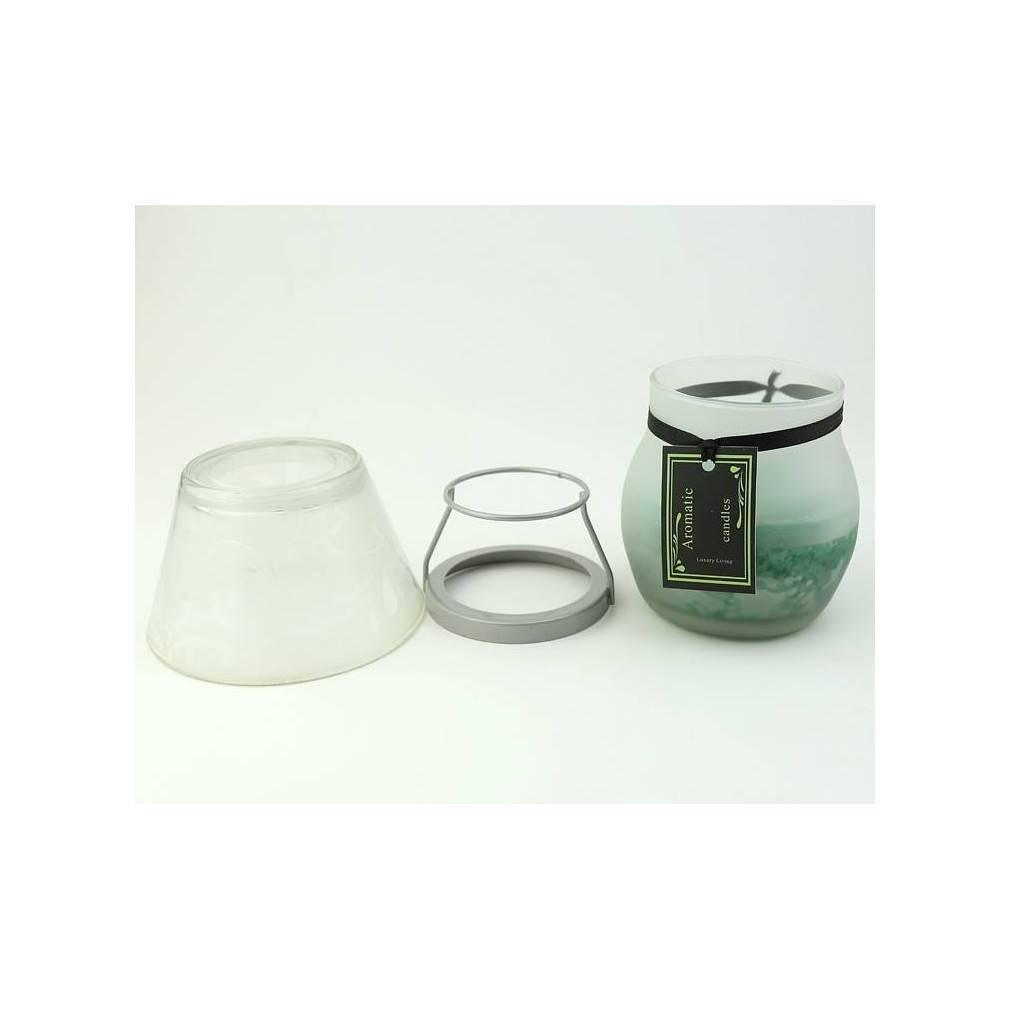 bougie lampe d corative senteur bois e hauteur 15 5 cm ebay. Black Bedroom Furniture Sets. Home Design Ideas