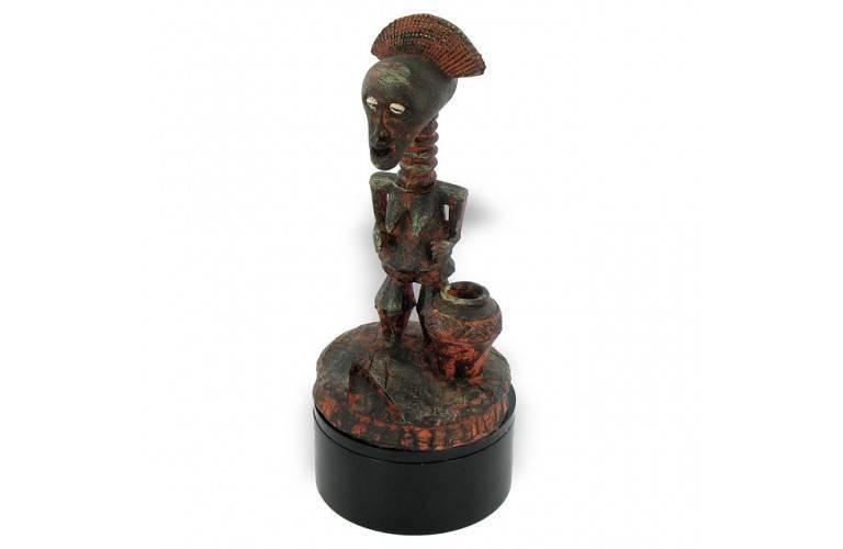 STATUETTE FETICHE AFRICAIN FECONDITE
