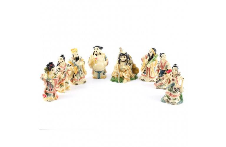 DIEUX CHINOIS les 8 IMMORTELS