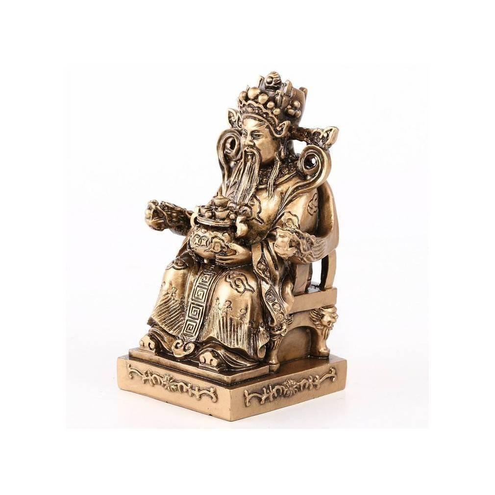 statuette du dieu chinois protecteur traditionnel tudigong. Black Bedroom Furniture Sets. Home Design Ideas