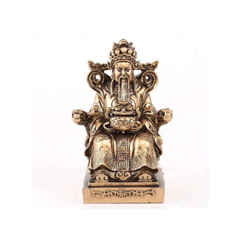 statuette dieu chinois protecteur tudigong bonheur et fortune dans la maison ebay. Black Bedroom Furniture Sets. Home Design Ideas