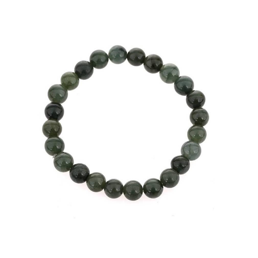 Bracelet en jade véritable, paix intérieure et harmonie